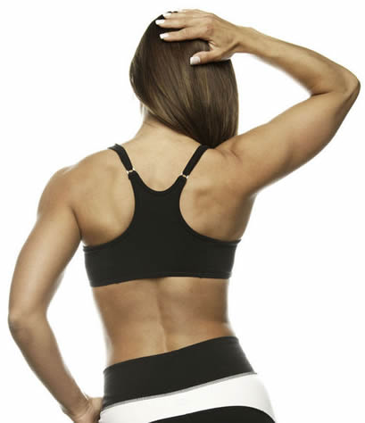 How to Reduce Back Fat