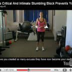 This Critical And Intimate Stumbling Block Prevents Your Fitness Results