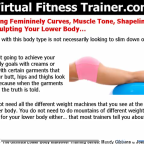 Lower Body Training - Shape Define and Sculpt Your Lower Body
