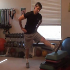 Advanced 1-Leg Hamstring/Inner Thigh/Groin Stretch