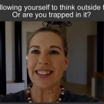 Soul Rockstar LESSON for you… ARE YOU ALLOWING YOURSELF TO THINK OUTSIDE THE BOX… OR ARE YOU TRAPPED IN IT….?
